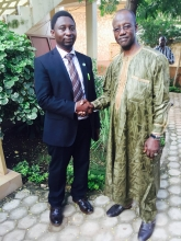 AGF President with the Ex-PM Danda
