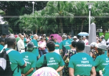 Mauritius Greens at the Demonstration site