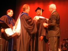 Doctorate conferred upon