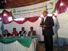 Mr.Antoine Kinyomvyi from Burundi