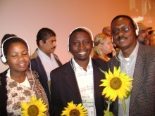 African Representatives at Global Greens Congress in Brazil