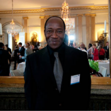 Ram Ouedraogo, candidate for President in Burkina Faso