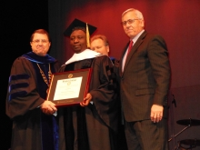 With Bethel College Authorities