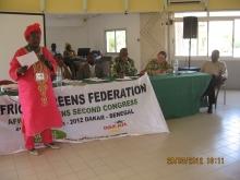AGF members in Dakar