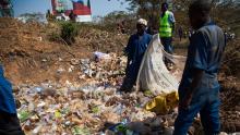 Plastic dumping site/Photo-New Times Rwanda