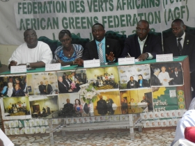 Launching AGF Secretariat in Burkina