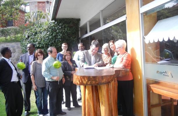 Americas Margot Soria Saravia signs