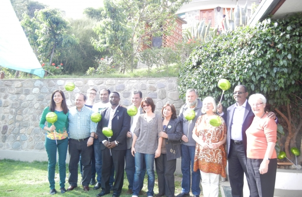 the Global Greens Coordination members