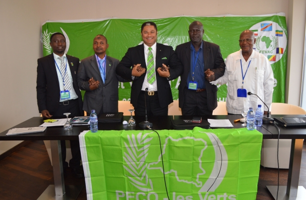 Greens united in Central Africa